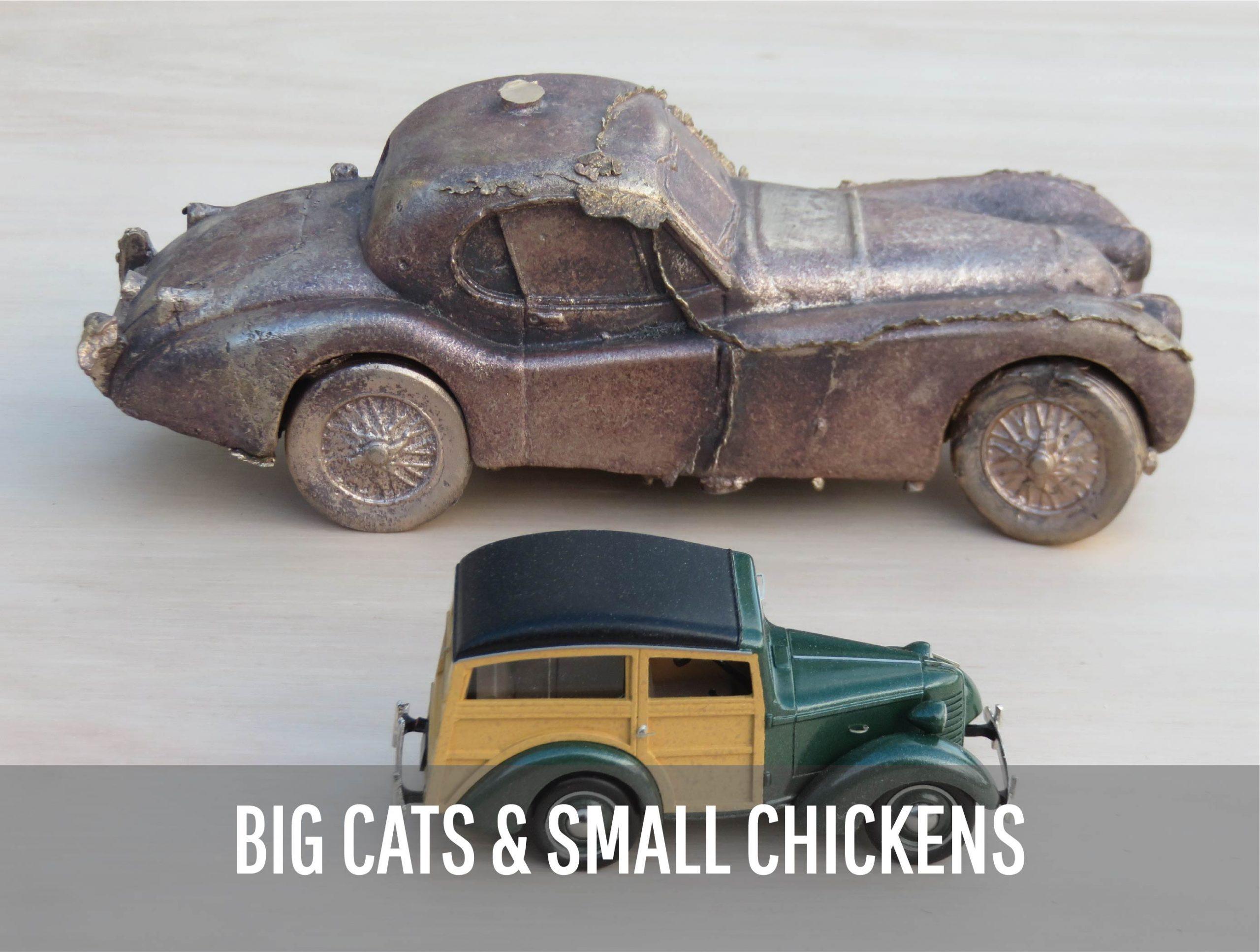 Peter Naulls - vintage car models