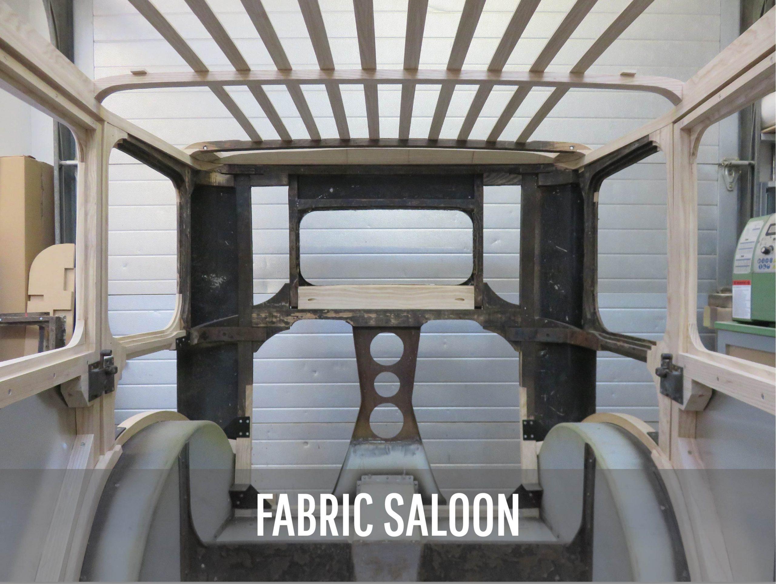 Peter Naulls - Fabric saloon vintage car